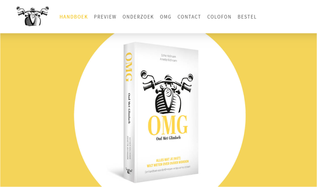 Win een gratis exemplaar van OMG - Oud Met Glimlach, het handboek voor de 40+ vrouw. Te koop bij Urban Flow, Tofff! en bol.com.
