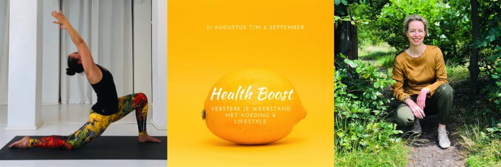 Health Boost online 7 daags programma om je weerstand te vergroten